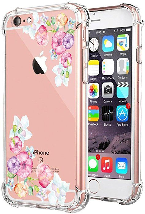iPhone 6s Plus Case Vanki Clear Slim Soft TPU Shock Design Protective Back  Cover (iPhone 6 6s dd037b4e07