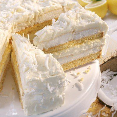 Schnee-Torte