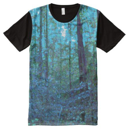Mystic Forest Full Print T-shirt - click to get yours right now!