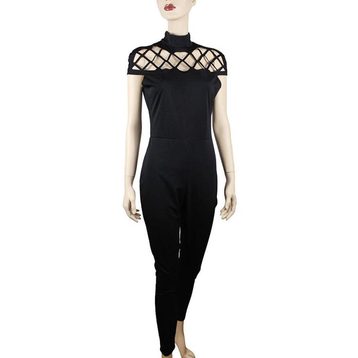 Now available in our store  Choker High Neck ...  Check it out here  http://lorinas-store.myshopify.com/products/choker-high-neck-long-jumpsuit?utm_campaign=social_autopilot&utm_source=pin&utm_medium=pin