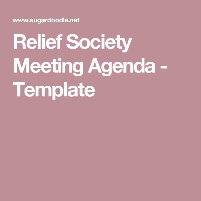 Best 25+ Meeting agenda template ideas on Pinterest Effective - format of an agenda