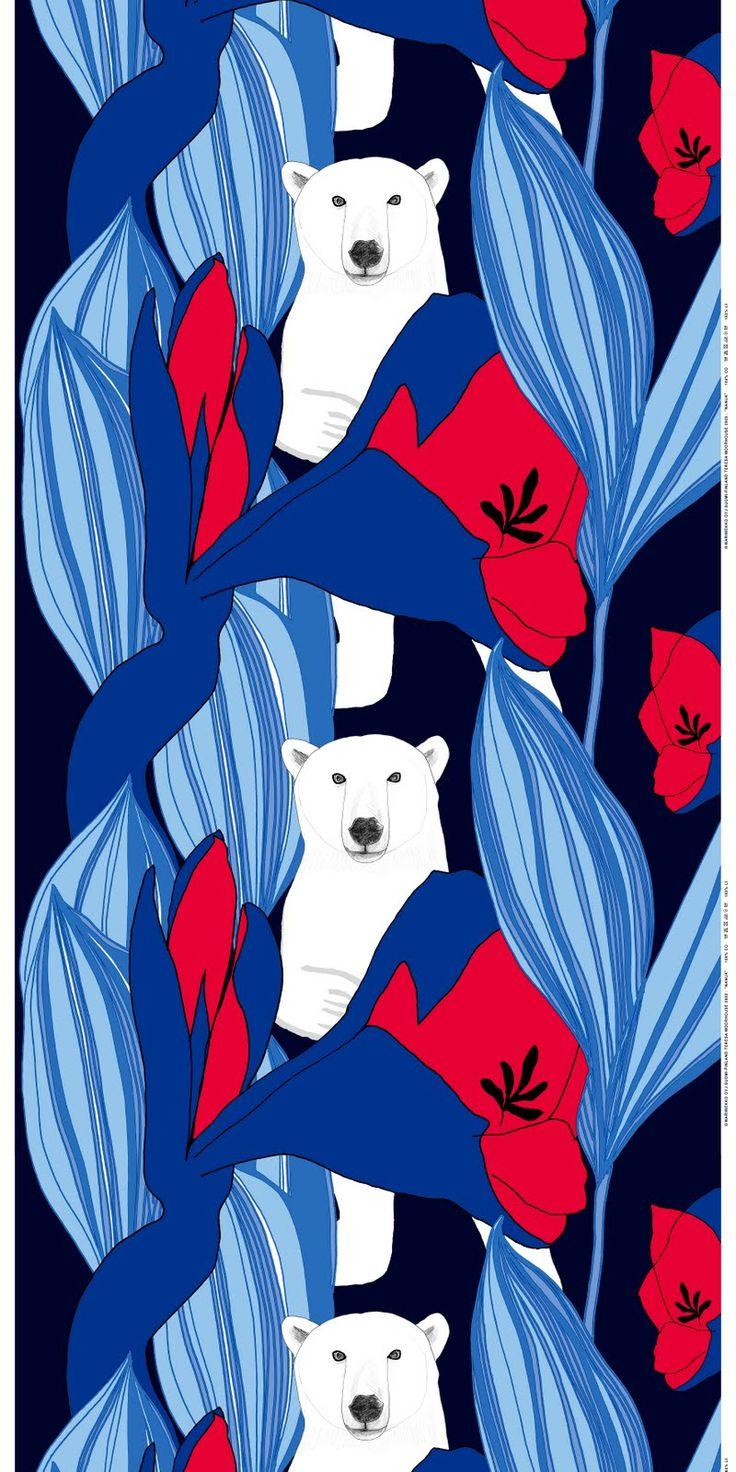 Nanuk - fabric, Marimekko