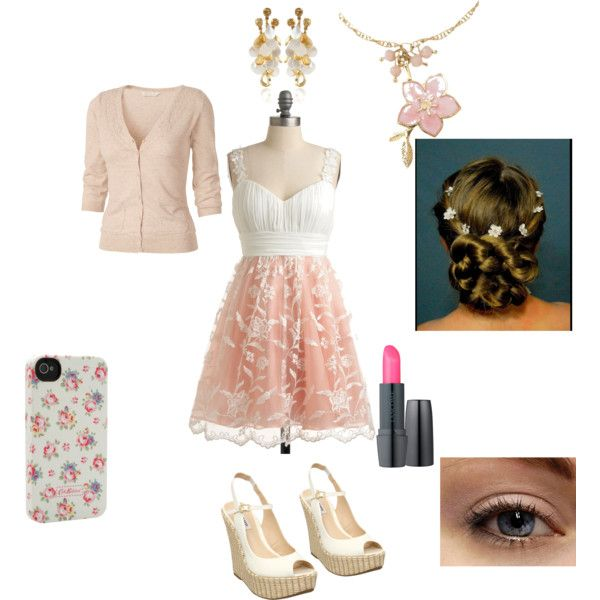 Summer Dress-y Outfit. by hellojello585 on Polyvore