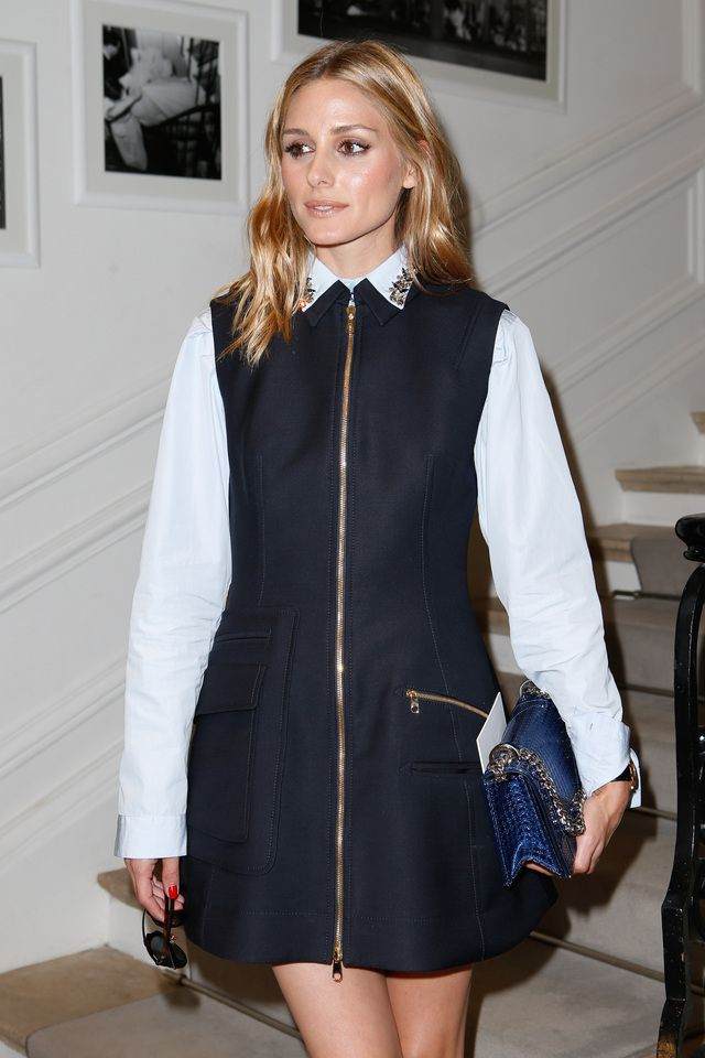 Olivia Palermo - Christian Dior Fall 2016 Haute Couture Front Row - July 4, 2016