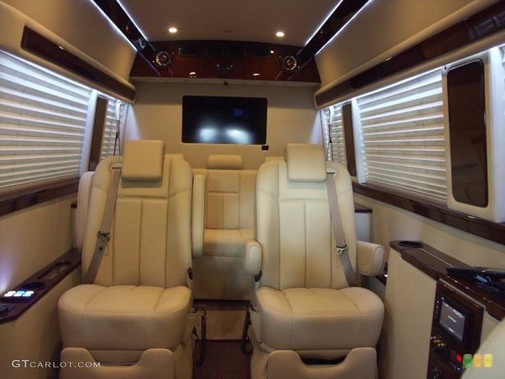 Mercedes benz sprinter 2500 high roof passenger conversion van interior colors beige my for Mercedes sprinter van interior