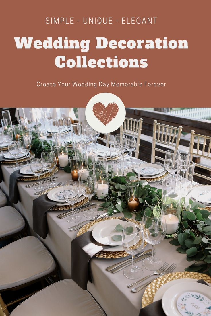 Revamp Your Own Wedding Reception With The Help Of These Unique Cheap Wedding Dec Wedding Decorations Wedding Design Decoration Affordable Wedding Decorations