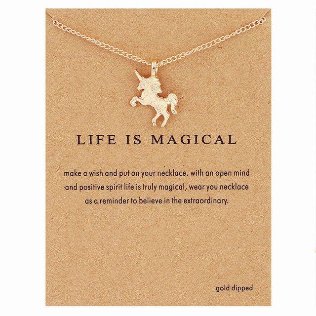Unicorn Statement Necklace
