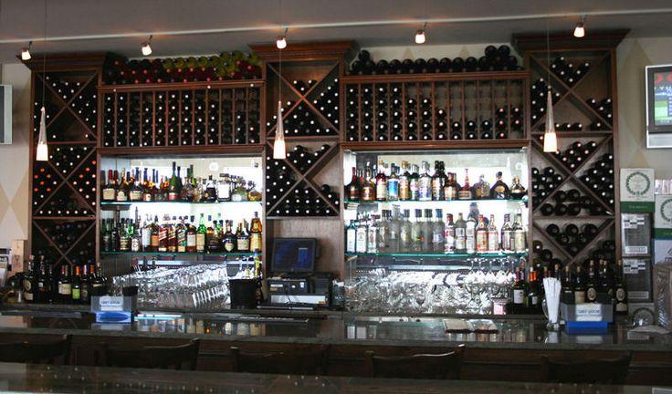 54 best bar back ideas images on pinterest bar designs for Commercial wine bar design ideas