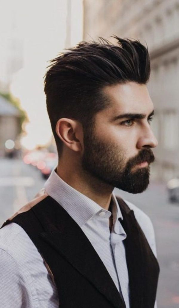 Best Hairstyles For Men With Thin Hair Best Hairstyles For Men Thin Hair Hairstyles Mens Hairstyl Beard Styles Short Mens Hairstyles Short Spiked Hair