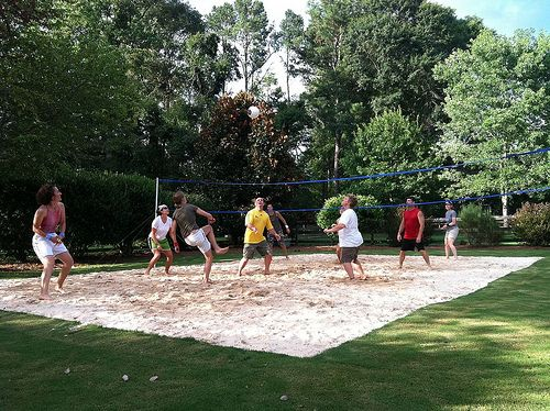 Best 20 Volleyball court backyard ideas on Pinterest Outdoor