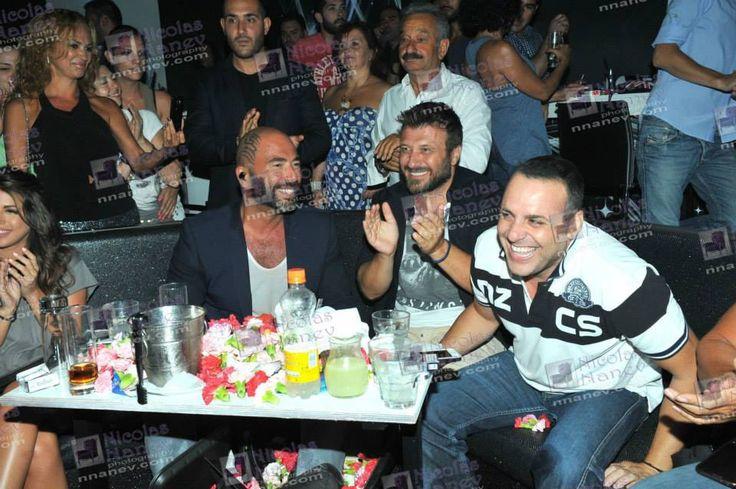 Giannis Ploutarxos @ Arena Live visiting Valadis