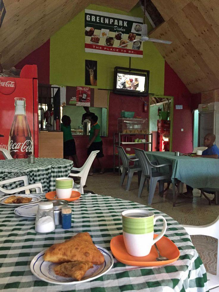Café Green Park, Lodwar, Kenia