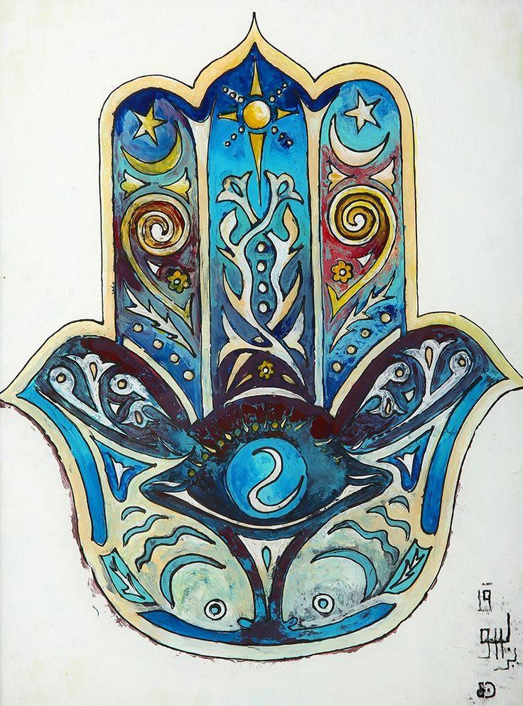 Fatma'nın Eli (Hamsa) Camaltı Tablo-Ebu Burak Mardin halkı tarafından Ebu Burak olarak bilinen Tacettin usta, 21 Kasım 1973 yılında Mardinli bir ailenin altı çocuğunun ilki olarak dünyaya gelmiş. Bakır ustalığını dedesinden ve babasından usta çırak ilişkisiyle öğrenen Tacettin ustanın Şahmaran ve cam altı sanatını yaşatması ise onu konusunda tek kılıyor.