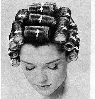 I use to do this!  I dare anyone to try and sleep in these rollers.  It's a bitch.