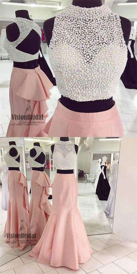 522 best 2 Piece Evening Gowns images on Pinterest | Dress prom ...