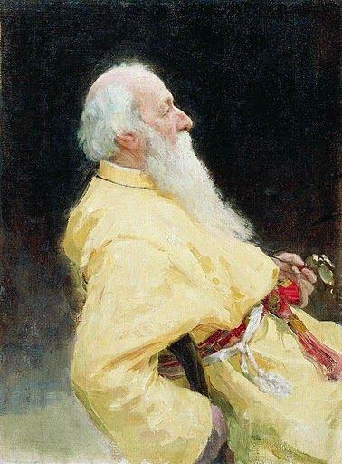 Ο ιστορικός τέχνης Vladimir Stasov.