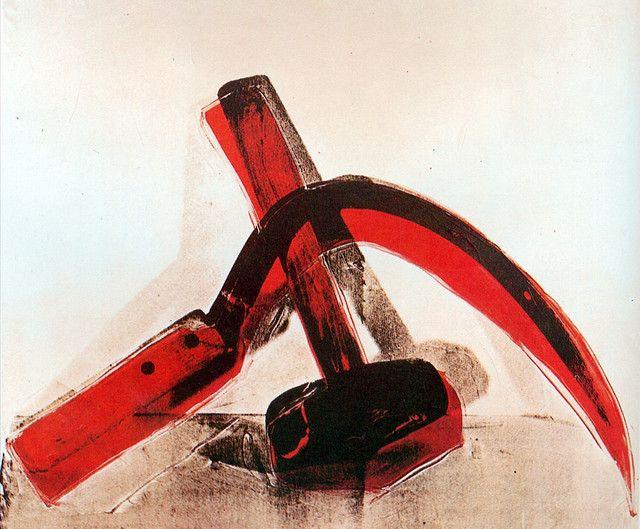 Faucille et Marteau (Nature Morte) - Andy Warhol (1976).