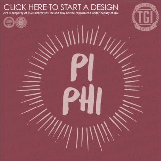 Pi Beta Phi   Pi Phi   ΠΒΦ   Hometown   PR   Sorority PR   TGI Greek   Greek Apparel   Custom Apparel   Sorority Tee Shirts   Sorority T-shirts   Custom T-Shirts