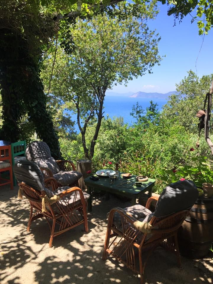 Faralya Botanica, Fethiye, Turkey. Self contained stone cottages, timber bungalows and camping huts set in the beautiful Faralya village along the ancient Lycian Way http://www.organicholidays.com/at/3473.htm