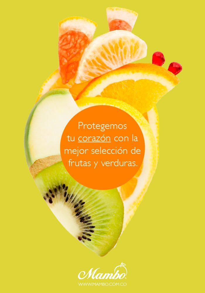 El corazón de Mambo: nuestras frutas y verduras. www.mambo.com.co