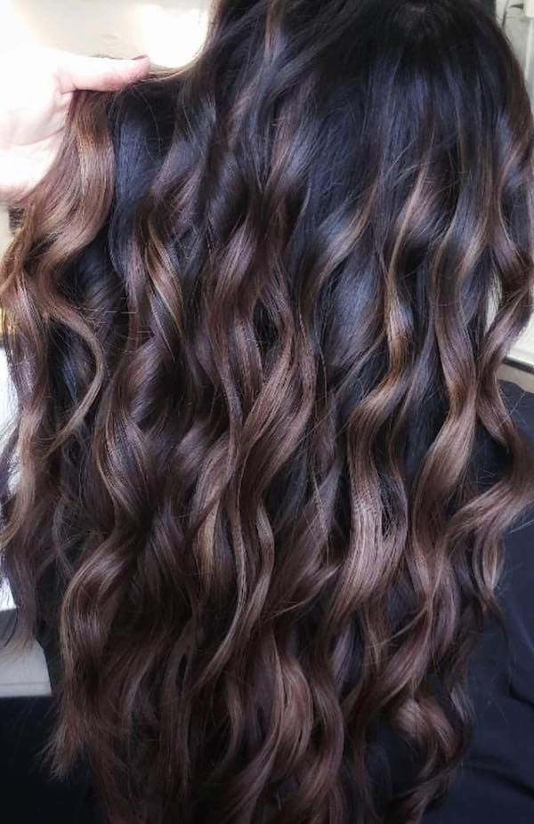 Dark Brown Hair Color Trends For Brunettes With Images Brown