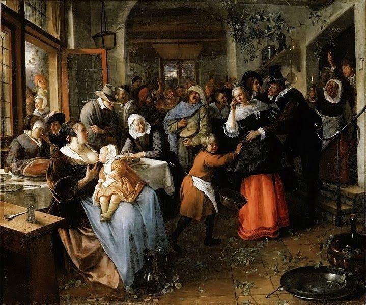 Jan Steen: The Cheated Bridegroom By Jan Steen