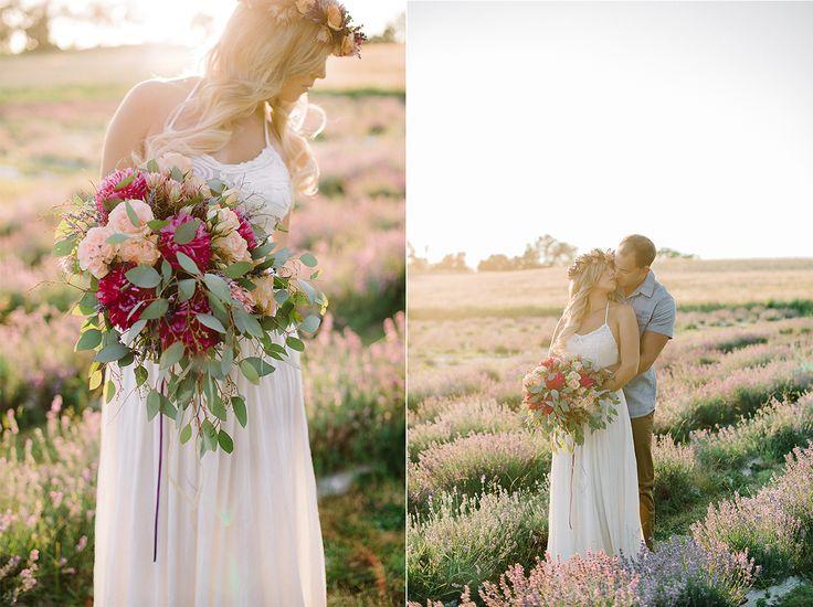 Destiny Dawn Photography | Engagement Toronto Wedding Photographer, Lavender Field Engagement Photos