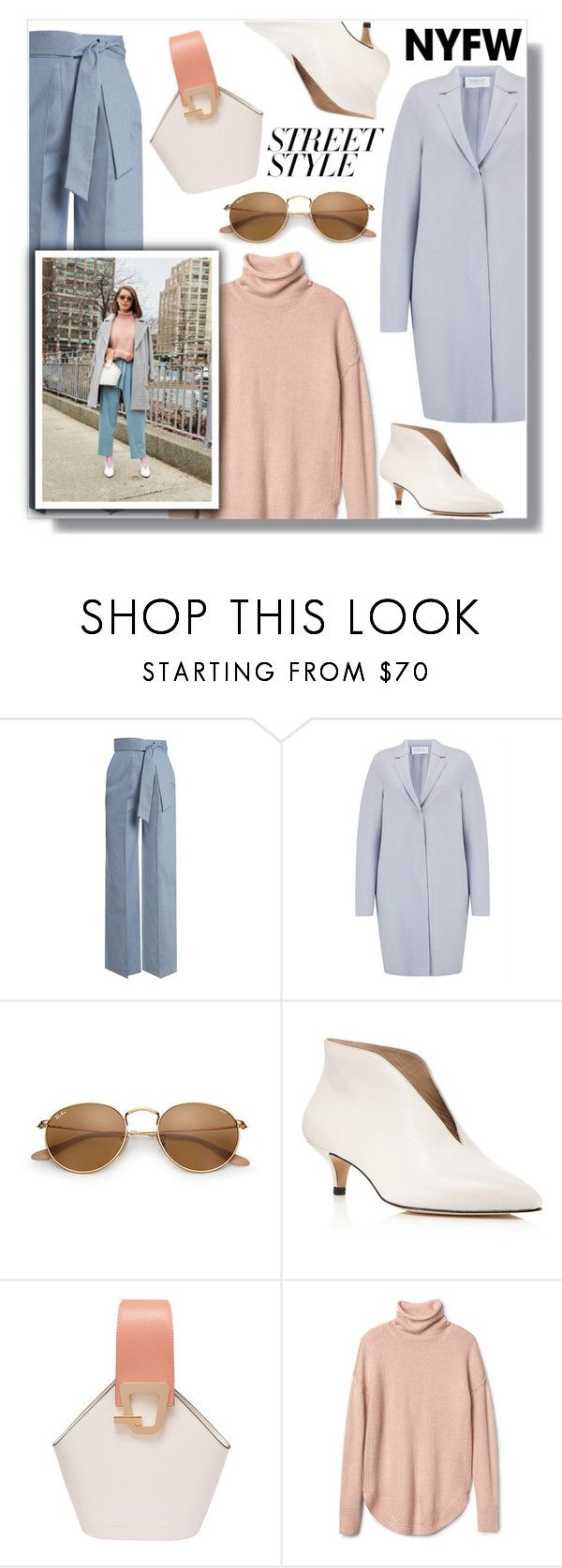 """""""Win It! NYFW: Street Style"""" by the-geek-goddess on Polyvore featuring Vika Gazinskaya, Harris Wharf London, Pour La Victoire, Danse Lente, contestentry and nyfwstreetstyle"""