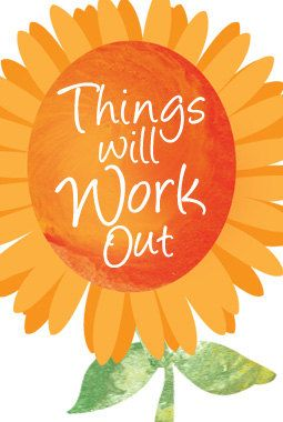 Things Will Work Out by LittleLotusFlowers on Etsy