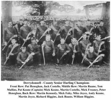 Derrydonnell, Galway Senior Hurling champions, 1911 #Irish #history