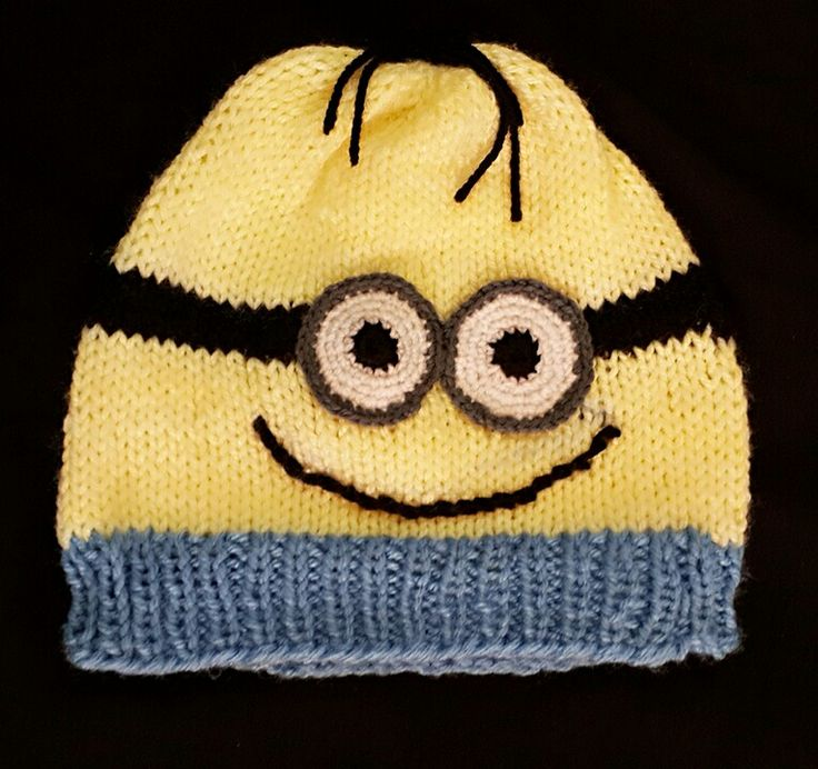 Mionions hat Hand knitted