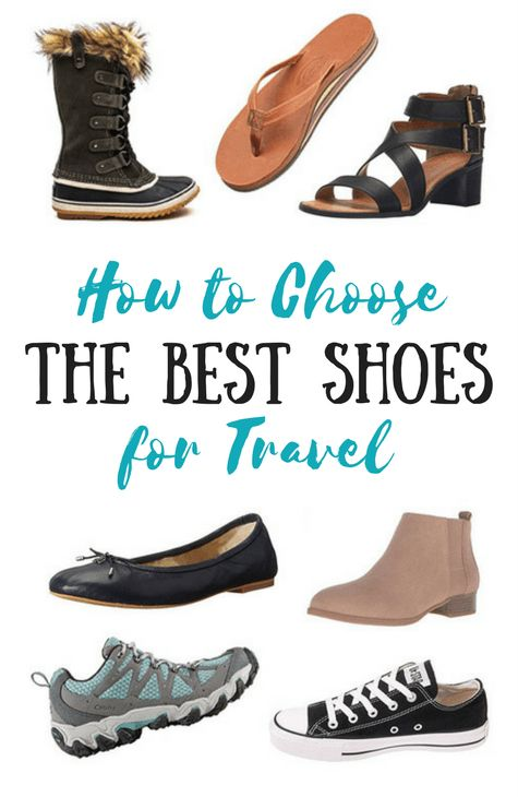 How to Choose Shoes for Travelling