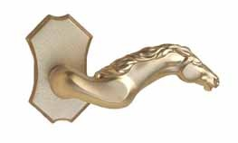 Equestrian door knob. Telluride