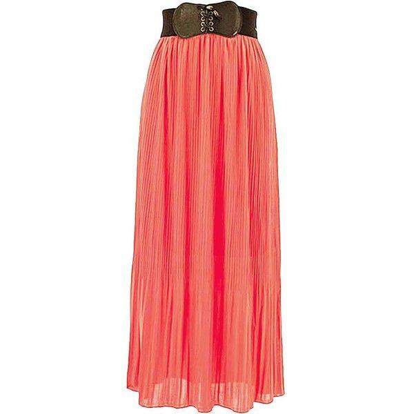 25  best ideas about Pleated chiffon maxi skirt on Pinterest ...