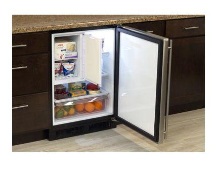 "MARVEL 24"" Refrigerator Freezer with Drawer Storage | ML24RF"