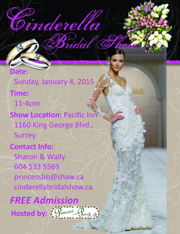 FREE bridal show on Sunday Jan 4 2015  from  11 AM to  4 PM