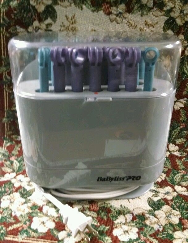 Babyliss Pro Hot Sticks 20 Bendable Curler Pageant Cheer Church Clips Not Needed #Babyliss