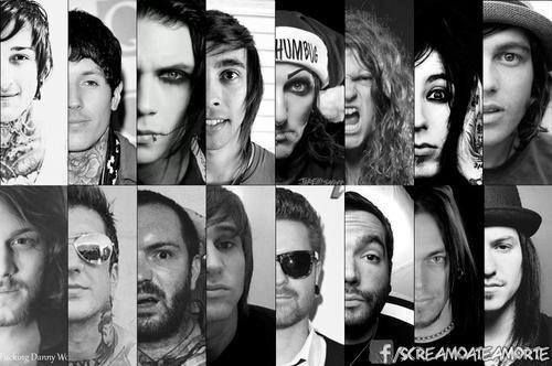 Ronnie Radke  Kellin Quinn  Vic from Pierce The Veil   amp  Andy Biersack    Mitch Lucker And Vic Fuentes