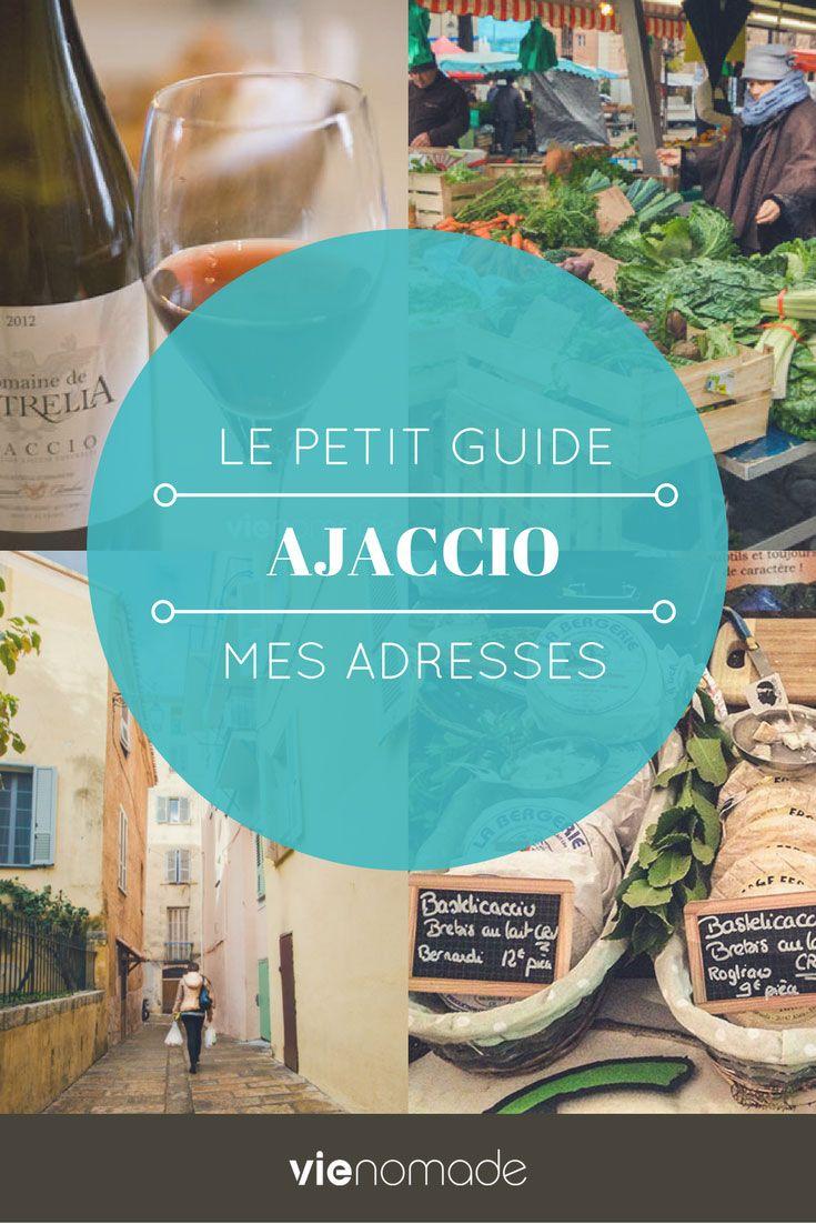 Que faire et où manger à Ajaccio? Découvrez ma sélection de bons plans et d'adresses à ne pas rater lors de votre voyage en Corse. J'ai compilé pour vous une liste un peu éclectique, entre musées, restaurants, randonnée et événements!