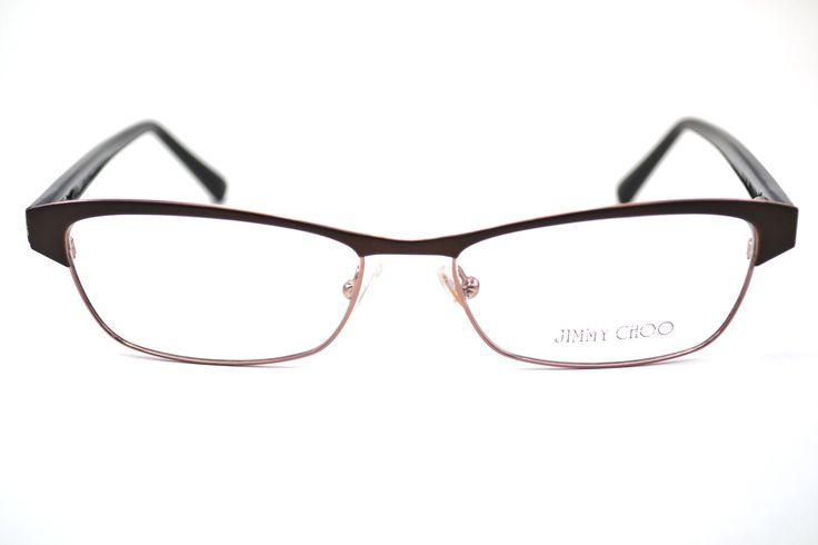 jimmy choo 43 eyeglasses 0syn brown glitter 53 mm 827886984022 daughters eyeglasses and brown