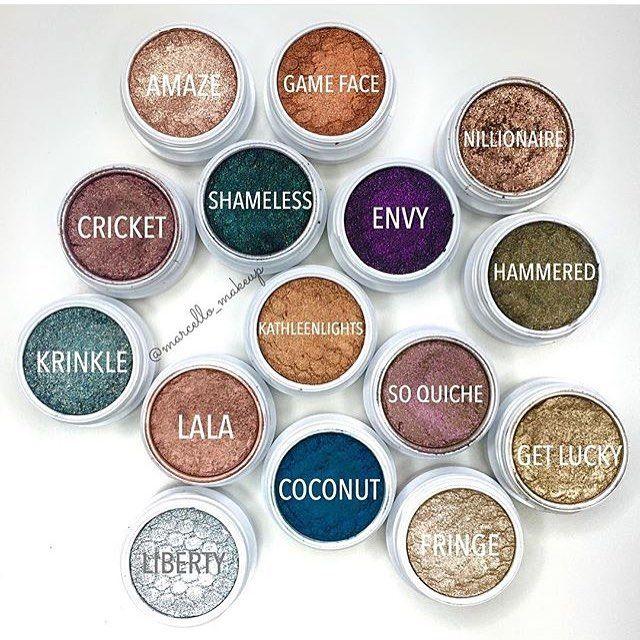 Can we talk about @marcello_makeup #SuperShockShadow collection ✨ #colourpopcosmetics #colourpop #colourpopfun
