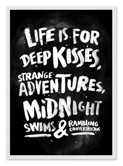 lovedtxfrog:    Let's see…we've done the deep kisses, stranger adventures, and midnight rambling conversations - time to go swimming baby.
