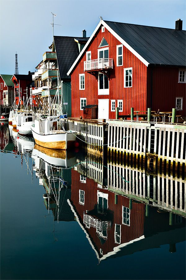 Henningsvaer fishing village, Norway                                                                                                                                                                                 Plus