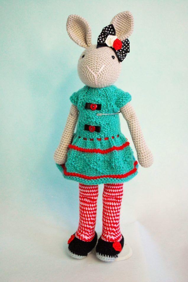 Amigurumi Crochet bunny rabbit