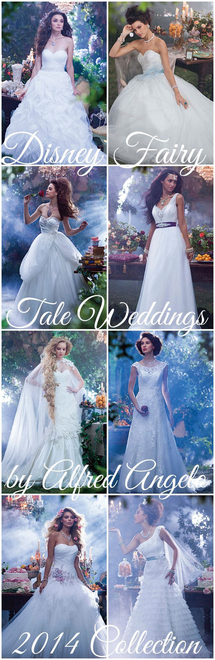 8 Wedding Dresses Sure to Bring Out Your Inner #Disney #Princess #Wedding