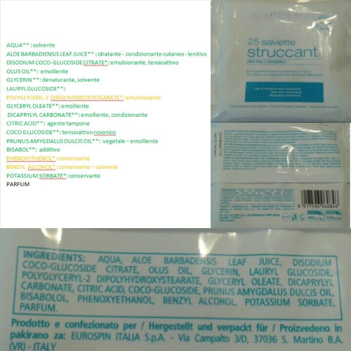 Removal wipes-Fior di Magnolia • Price: 1,89 euros • PRO • low cost • great price/quality ratio • easy availability • good smell • INCI• In my opinion there are no cons. THIS IS A GREAT PRODUCT!!