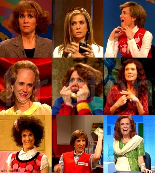 Kristen Wiig... my hero