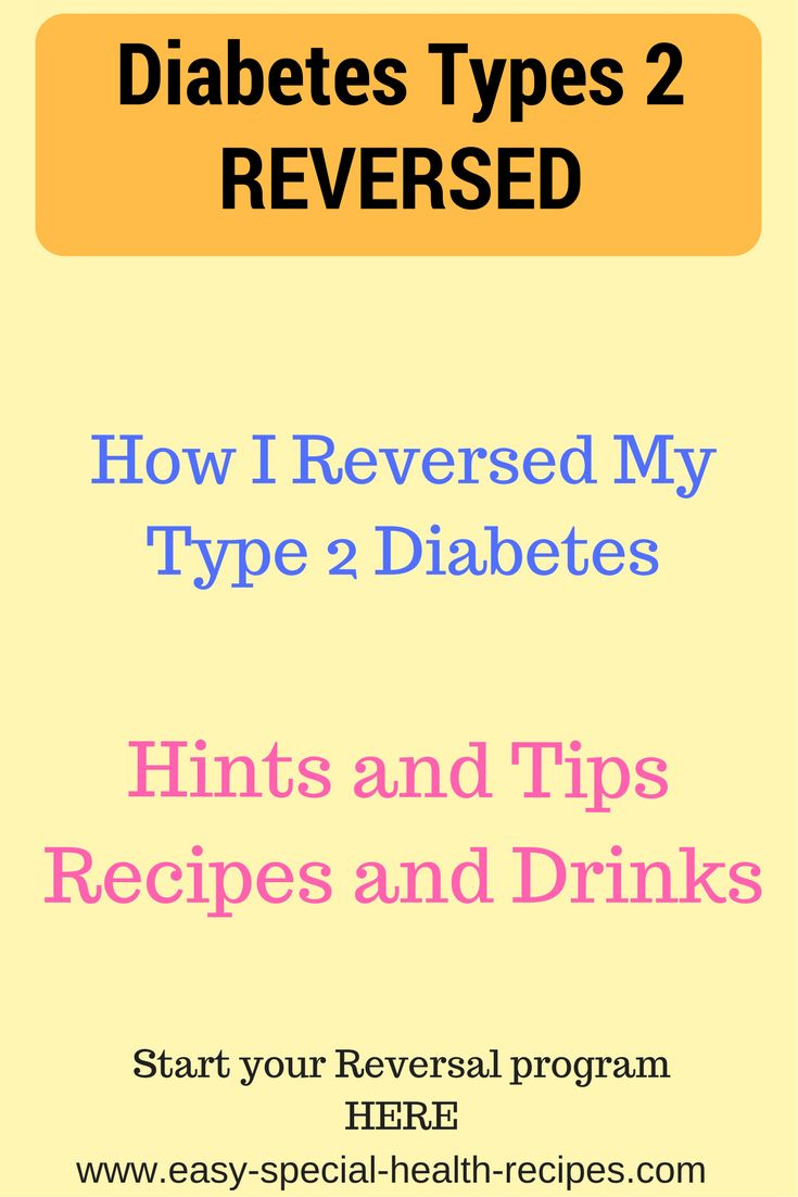 Reversing Diabetes Type2 is Possible Now With just a few small changes in the foods we eat and just 20mins extra exercises like walking a little more and you can be clear of T2diabetes.See how you can start FREE at: www.easy-special-health-recipes.com