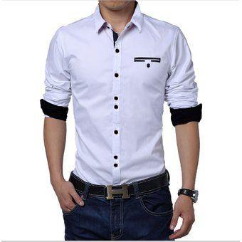 8de3377540 Compra Camisa Hombre Diseño - Blanco online ✓ Encuentra los mejores  productos Camisas casuales manga corta GNRC en Linio Colombia ✓