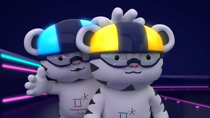 (KOR/ENG) 2018 평창 마스코트 무드등 홍보 영상   PyeongChang 2018 mascots-designed 'mo...
